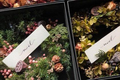 おしゃれ 雑貨屋 カフェ クリスマス リース スワッグ 長野 松本