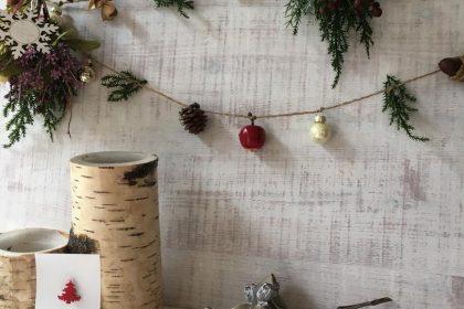 親子 ミニスワッグ つくる クリスマス ワークショップ レッスン