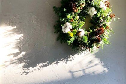 東京 冬 景色 クリスマス リース