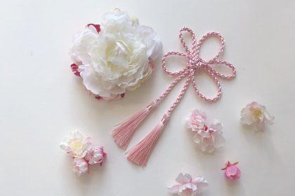 卒業式 謝恩会 アーティフィシャルフラワー 桜 ヘアピンセット 和装 髪飾