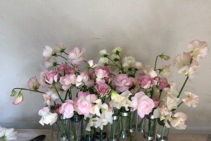 季節 花 ツェツェ 花器 花のある生活 春 夏