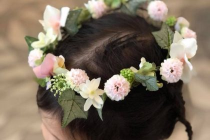 上野の森 バレエマルシェ ワークショップ 真夏の夜の夢 花かんむり 東京バレエ団