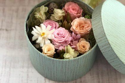 ママ 贈り物 ベイビー 男の子 ピンク 花 プリザーブドフラワー ギフト