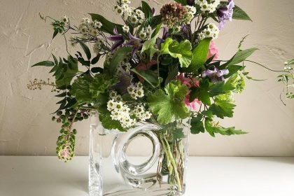 花のある生活 ディアボロ 洋酒山牛蒡 採取 いける 楽しむ 自宅