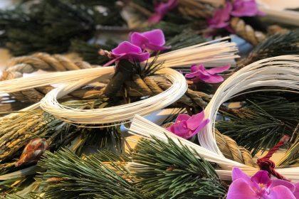 毎年恒例 お正月 しめ縄飾り ワークショップ レッスン 平成