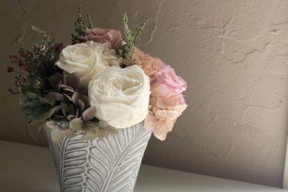 生花 プリザーブドフラワー お供え 卒寿 飾る